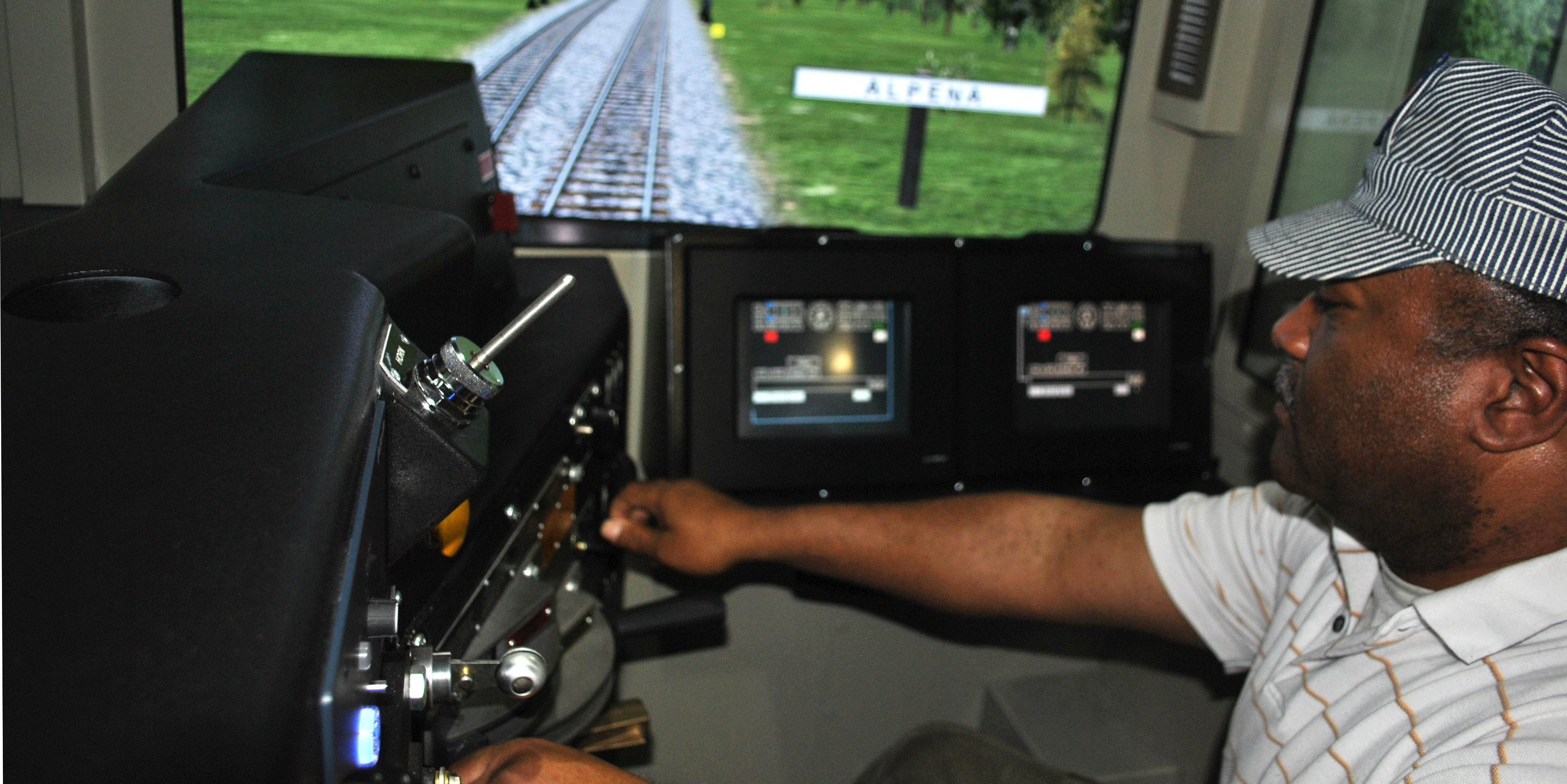 Cab Technology Integrated Laboratory (CTIL) railroad simulator (FRA/Volpe)